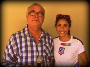 Raúl Cintrón y Beverly Ramos